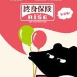 オリック生命の終身保険「RISE(ライズ)」〜30歳男性ランキング2位